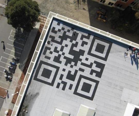 Facebook Rooftop QR Code