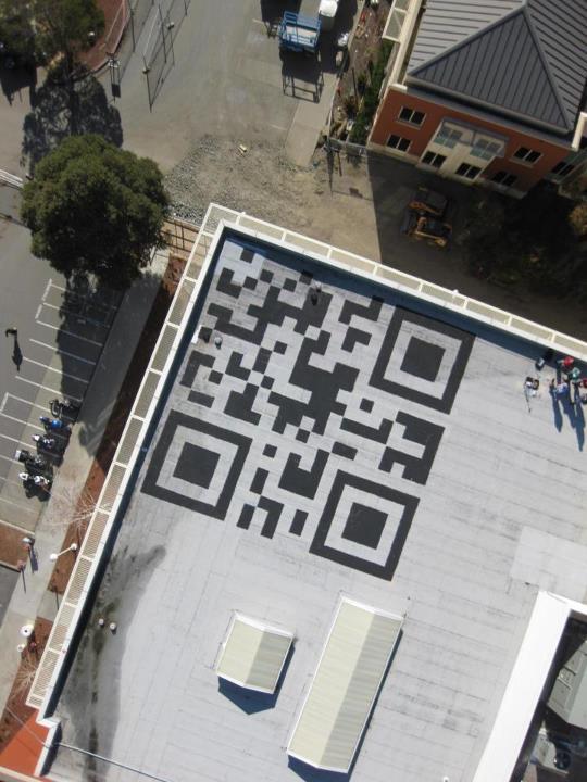Facebook's Rooftop QR Code Fail   QR Code Does Not Work!